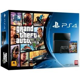 Consola PS4 500GB + Grand Theft Auto V