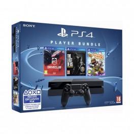 Consola PS4 500GB + LBP3 + The Last of Us + Drivec