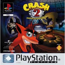 Crash Bandicoot 2 (Platinum) - PSX