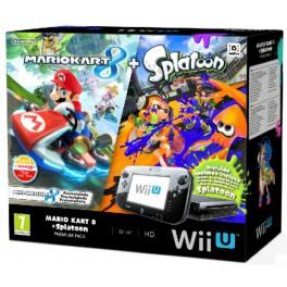Consola Wii U Premium + Mario Kart 8 + Splatoon