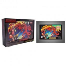 Luminart Nintendo Super Metroid SNES 31x22