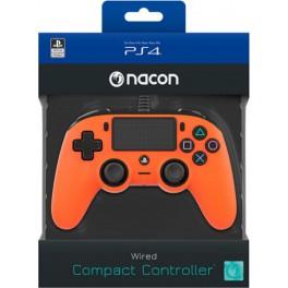 Mando con Cable Nacon Oficial Naranja - PS4