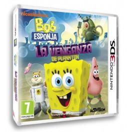 Bob Esponja La Venganza de Plankton - 3DS