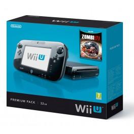 Consola Wii U Negra Pack Premium + ZombiU