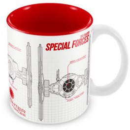 Taza Star Wars Tie Fighter Special Forces