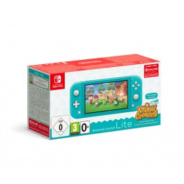 Consola Switch Lite Turquesa + AC New Horizons