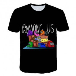 Camiseta Infantil Among Us Tallas 4 a 14 añ