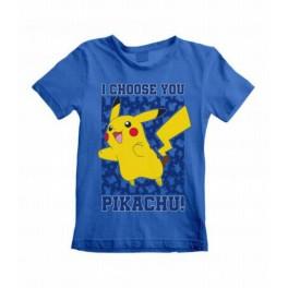 Camiseta Infantil Pokémon I Choose You - T9