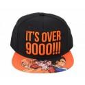 Gorra Dragon Ball Z It's Over 9000!!!